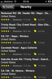 iPhone App Motorcycle Routes Screenshot7